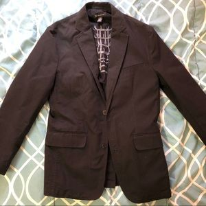 Black INC Internstional concepts casual blazer